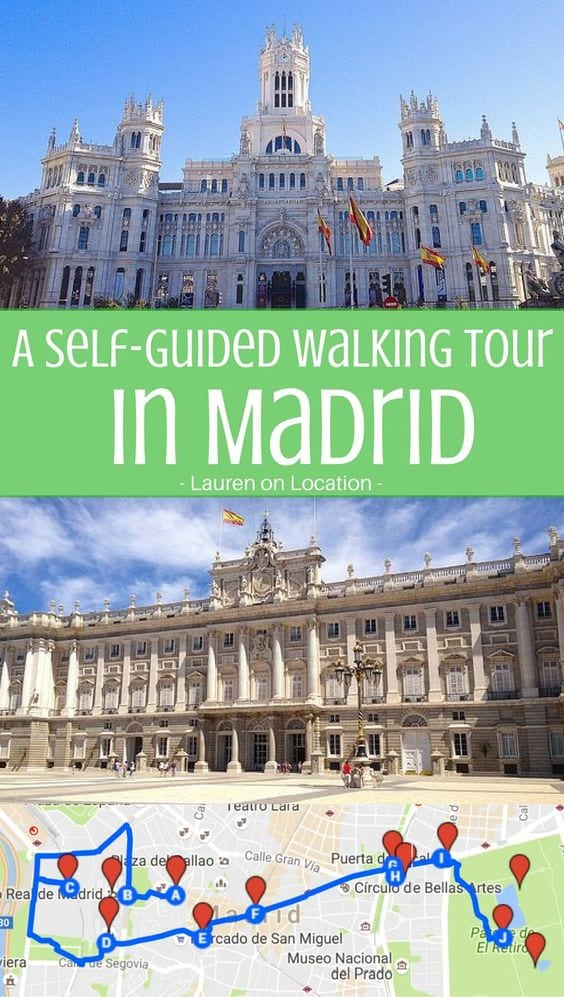 A DIY walking tour of the central sights in Madrid. 4 hours and multiple stops to see the best Madrid has to offer.